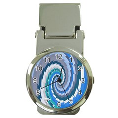 Psycho Hole Chevron Wave Seamless Money Clip Watches