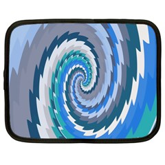 Psycho Hole Chevron Wave Seamless Netbook Case (xl)