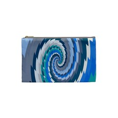 Psycho Hole Chevron Wave Seamless Cosmetic Bag (small)