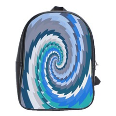 Psycho Hole Chevron Wave Seamless School Bag (large)