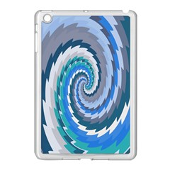 Psycho Hole Chevron Wave Seamless Apple Ipad Mini Case (white)