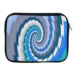 Psycho Hole Chevron Wave Seamless Apple Ipad 2/3/4 Zipper Cases