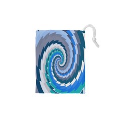 Psycho Hole Chevron Wave Seamless Drawstring Pouches (xs)