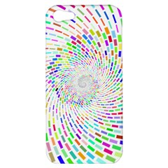 Prismatic Abstract Rainbow Apple Iphone 5 Hardshell Case