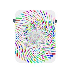 Prismatic Abstract Rainbow Apple Ipad 2/3/4 Protective Soft Cases