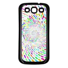 Prismatic Abstract Rainbow Samsung Galaxy S3 Back Case (black)