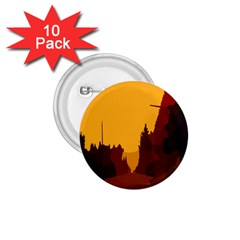 Road Trees Stop Light Richmond Ace 1 75  Buttons (10 Pack)
