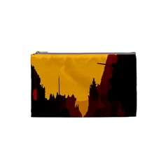 Road Trees Stop Light Richmond Ace Cosmetic Bag (small)