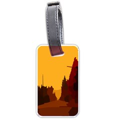Road Trees Stop Light Richmond Ace Luggage Tags (one Side)