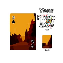Road Trees Stop Light Richmond Ace Playing Cards 54 (mini)