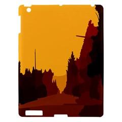 Road Trees Stop Light Richmond Ace Apple Ipad 3/4 Hardshell Case