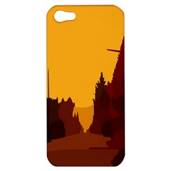 Road Trees Stop Light Richmond Ace Apple Iphone 5 Hardshell Case