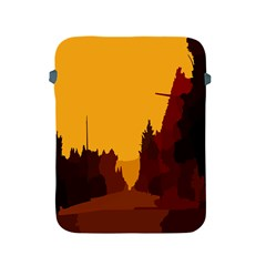 Road Trees Stop Light Richmond Ace Apple Ipad 2/3/4 Protective Soft Cases