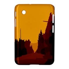 Road Trees Stop Light Richmond Ace Samsung Galaxy Tab 2 (7 ) P3100 Hardshell Case