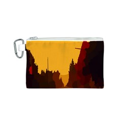 Road Trees Stop Light Richmond Ace Canvas Cosmetic Bag (s)