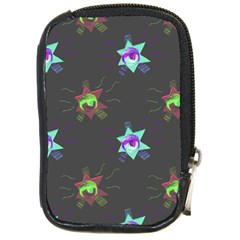 Random Doodle Pattern Star Compact Camera Cases