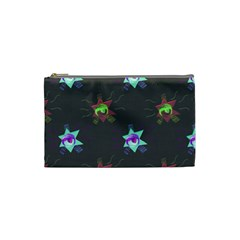 Random Doodle Pattern Star Cosmetic Bag (small)