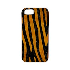 Skin4 Black Marble & Yellow Grunge Apple Iphone 5 Classic Hardshell Case (pc+silicone)