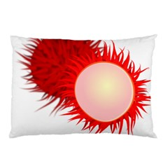 Rambutan Fruit Red Sweet Pillow Case