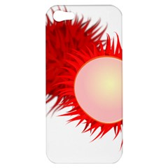 Rambutan Fruit Red Sweet Apple Iphone 5 Hardshell Case