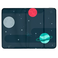 Space Pelanet Galaxy Comet Star Sky Blue Samsung Galaxy Tab 7  P1000 Flip Case