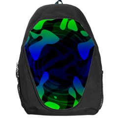 Spectrum Sputnik Space Blue Green Backpack Bag