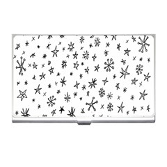 Star Doodle Business Card Holders