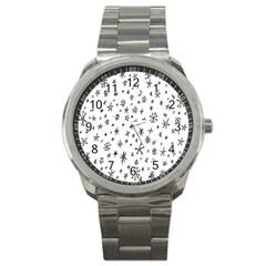 Star Doodle Sport Metal Watch