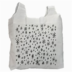 Star Doodle Recycle Bag (two Side)