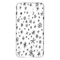 Star Doodle Samsung Galaxy S5 Back Case (white)