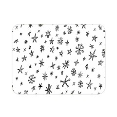 Star Doodle Double Sided Flano Blanket (mini)
