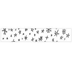 Star Doodle Large Flano Scarf