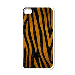Skin4 Black Marble & Yellow Grunge Apple Iphone 4 Case (white)
