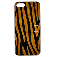 Skin4 Black Marble & Yellow Grunge Apple Iphone 5 Hardshell Case With Stand
