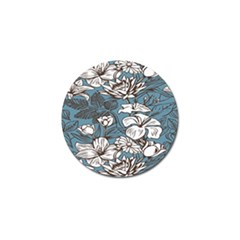 Star Flower Grey Blue Beauty Sexy Golf Ball Marker