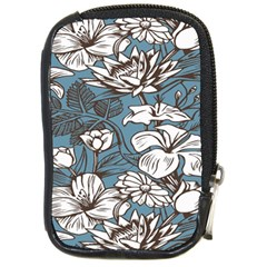 Star Flower Grey Blue Beauty Sexy Compact Camera Cases
