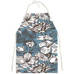 Star Flower Grey Blue Beauty Sexy Full Print Aprons