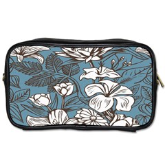 Star Flower Grey Blue Beauty Sexy Toiletries Bags