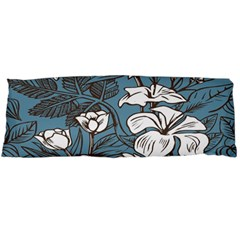 Star Flower Grey Blue Beauty Sexy Body Pillow Case (dakimakura)