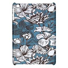 Star Flower Grey Blue Beauty Sexy Apple Ipad Mini Hardshell Case