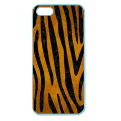 Skin4 Black Marble & Yellow Grunge (r) Apple Seamless Iphone 5 Case (color)