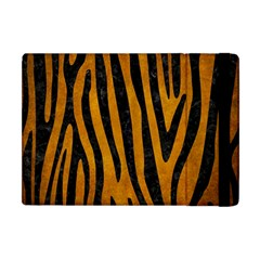 Skin4 Black Marble & Yellow Grunge (r) Apple Ipad Mini Flip Case