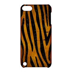 Skin4 Black Marble & Yellow Grunge (r) Apple Ipod Touch 5 Hardshell Case With Stand