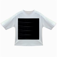 Stripes Black White Minimalist Line Infant/toddler T Shirts