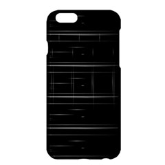 Stripes Black White Minimalist Line Apple Iphone 6 Plus/6s Plus Hardshell Case