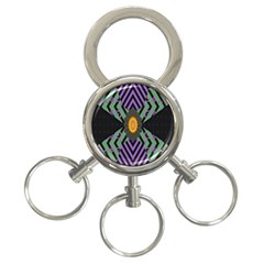 Secret Code Formula Sun 3 Ring Key Chains