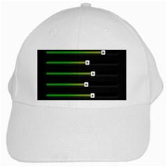Stock Illustration Rendering Seven Volume White Cap