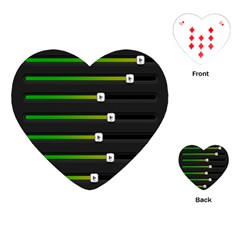 Stock Illustration Rendering Seven Volume Playing Cards (heart)