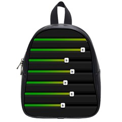 Stock Illustration Rendering Seven Volume School Bag (small)