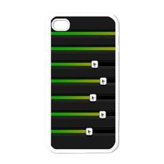 Stock Illustration Rendering Seven Volume Apple Iphone 4 Case (white)